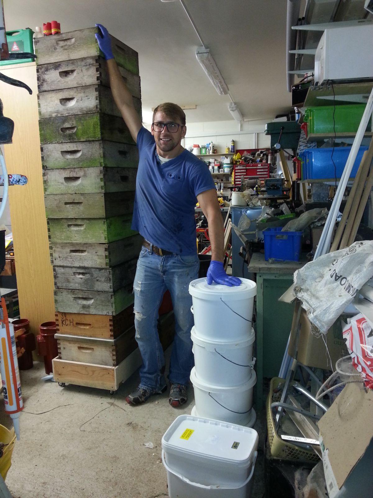Steve the beekeeper