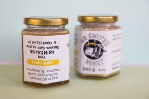 Mr Smiths Honey Jars